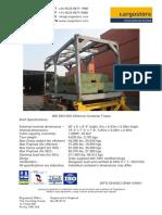 20ft Skid ISO Frame