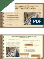 Microsoft PowerPoint - Parametros Para El Calculo de La Faja Transaportadora