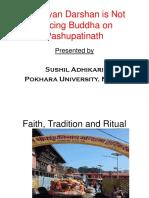Chhayan Darshan A Jatra of Hindu at Pashupatinath, Nepal