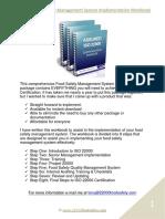 Sample of the Assured FSMS Certification Workbook