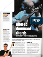 guitar altered dominant chords