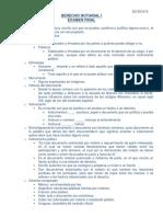 Derecho Notarial i, Examen Final