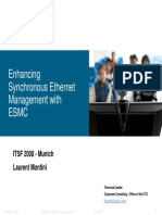 Improving SyncE Management With ESMC (Laurent Monitini, Cisco)