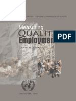 Measuring Quality of Employment