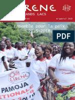 EIRENE Grands Lacs, Édition Spécial 2019