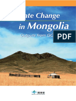Climate Change in Mongolia 2010