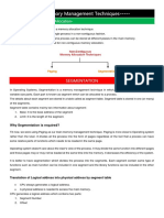 Segmentation and Paging & Page Replacement