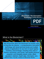 Blockchain - The Information Technology of the Future