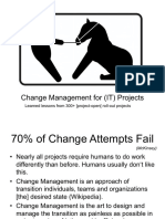 Change Management for (IT) Projects