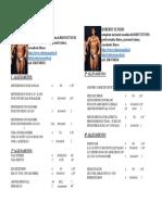 Tabella Bodybuilding Maschile Avanzati 3