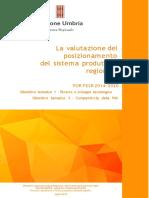 Libro La Valutazione Del Posizionamento Del Sistema Produttivo Regionale