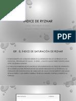 Indice de Ryznar
