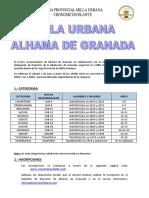 Normativa Alhama de Granada