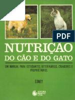 Nutricão Do Cão e Do Gato - A. T. B. Edney