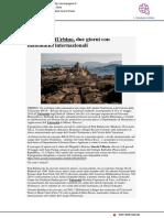 Università di Urbino, due giorni con matematici internazionali - Centropagina.it, 27 maggio 2019