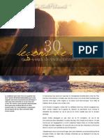 30 leçons de vie