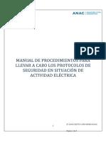 2018 ANAC Anexo-292-Dnso Manual Procedimientos Protocolos Seguridad Actividad Electrica