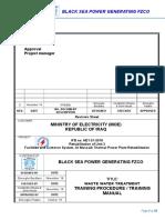 _training Procedure - Training Manual for Wwtp(03.12.2018)