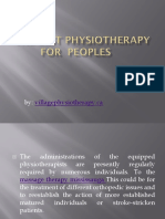 The Best Physiotherapy For  Peoples.pptx