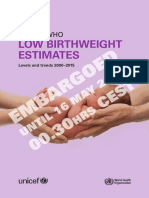UNICEF Brochure Low Birthweight Key Findings 2019