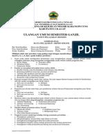 UAS Semester 1 Pelajaran Bisnis Online Tahun Ajaran 2018/2019