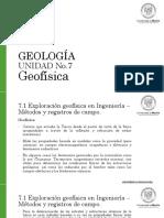 Unidad 7 Geofísica