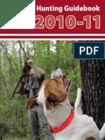 2010-11 Arkansas Hunting Guidebook
