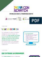 01. Crear Con Scratch - Qué Es Scratch
