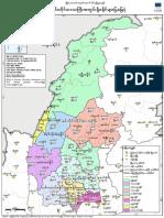 Region Map District Sagaing MIMU764v03 23Oct2017 MMR A4