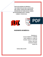 Ingeniería Biomédica (Trabajo)