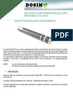 Manual Sonda Cloro Etap Ecl3 n