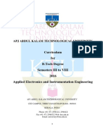 Applied Electronics and Instrumentation Engineering