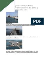 Principales Puertos de Guatemala y Sus Ubicaciones