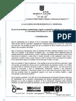 POLÍ. INFANC. Y ADOLESC.Decreto 520 de 2011