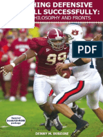 Coaching Defensive Football Successfully Vol 1 Philosophy and Fronts