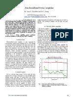 10W Ultra-Broadband Power Amplifier_ A K Ezzeddine_ H C Huang_ 2008.pdf
