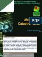 CATASTRO RURAL EN BOLIVIA