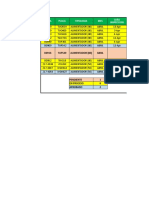 Cuadro Consolidado de Inspecciones Periodicas de Mantenimiento Cexp