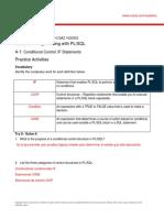 PLSQL 4 1 Practice