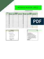 Planilla de Excel Para Control de Inventario