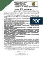 Edital Bolsa Santander 2018-2 Reabertura