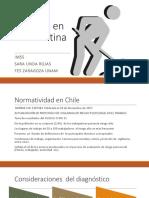 Normatividad en Chile y México