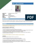 CV Alexander Lara 2019