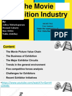 The Movie Exhibition Industry Final PPT