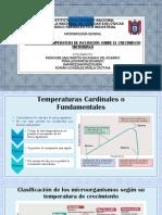 Efecto de La Temperatura en Los Microorganismos