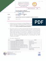 Regional Memorandum No. 263 s.2018