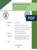 Participacion Comunitaria en Salud