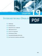 20. Chapter 19 - Internetwork Operation