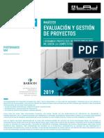 Magister Evaluacion Gestion de Proyectos