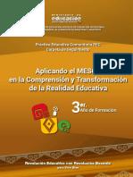 Aplicando El MESCP en La Realidad Educativa